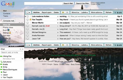 themes for gmail background official gmail blog custom background image themes