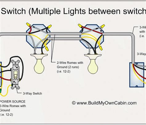 3 way switch wiring diagram with lights