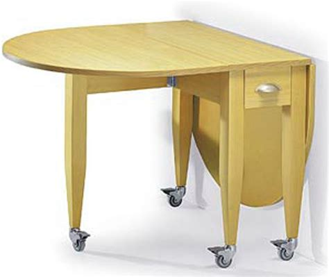 Drop Leaf Table For Small Spaces Wooden Drop Leaf Dining Table With Wheels And Drawer For Small Space Decofurnish