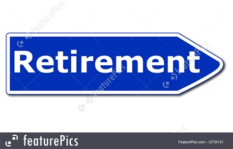 printable retirement road signs signs and info retirement sign stock photo i2734131 at