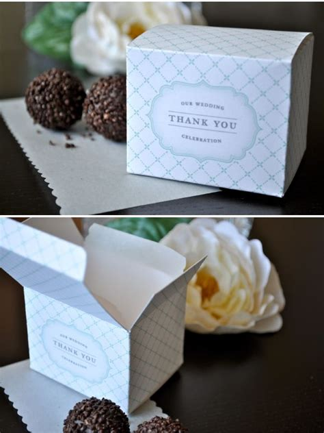 Diy Favor Boxes Templates favor box template favor box template