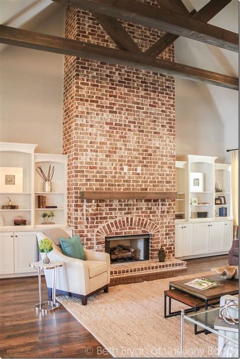 best ideas about brick fireplaces on fireplace redo