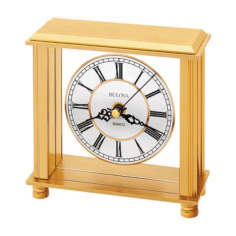 table top grandfather clock bulova cheryl tabletop clock at 1 800 4clocks com