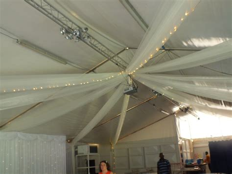 church marquee brentwood essex ceiling canopy