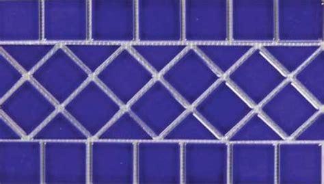 mosaic hatch pattern ceramic mosaic waterline tiles for swimming pools
