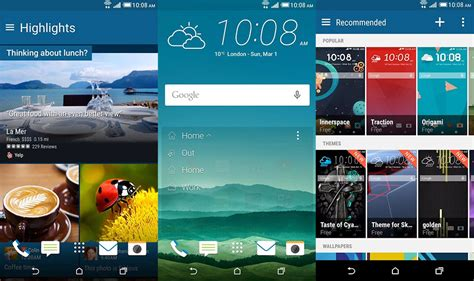htc blink feed apk install htc themes on blinkfeed launcher sense 7 naldotech