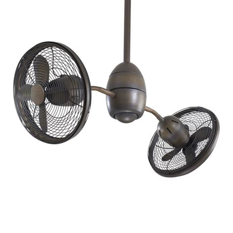 rotating ceiling fans minkaaire f302 rrb restoration bronze 8 blade 36 quot indoor