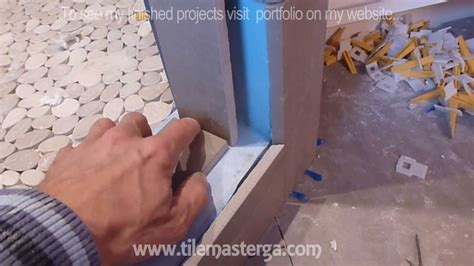 how to install shower surround tile backer board