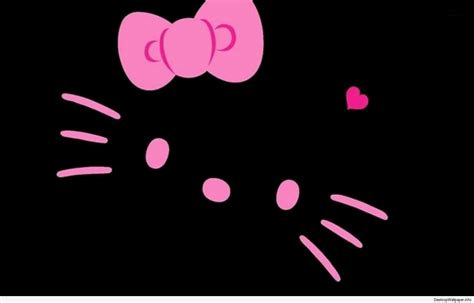 download theme hello kitty untuk laptop hello kitty wallpaper pink and black desktop wallpapers