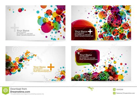 business card templates royalty free stock photo image