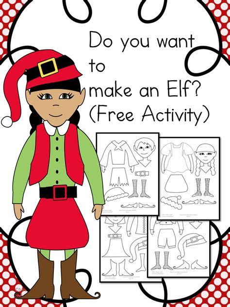 elf yourself printable pictures printable elf craft for kids the homeschool village
