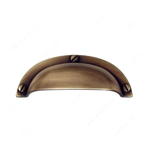 2 inch center to center cup drawer pulls richelieu povera 2 1 2 inch center to center antique