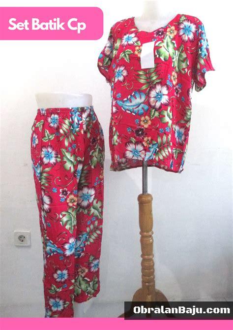 Daster Batik Motif Dress Allsize Seri Baju Tidur Murah Baju daster celana panjang cp obralanbaju obral baju pakaian murah meriah 5000