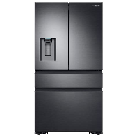 black samsung door refrigerator samsung 22 6 cu ft 4 door door refrigerator with