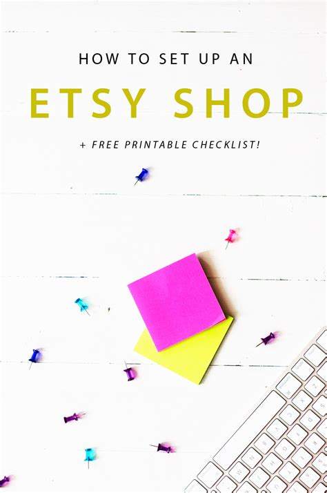 a step by step guide to set up your brand s youtube a step by step guide to setting up an etsy shop pinkpot
