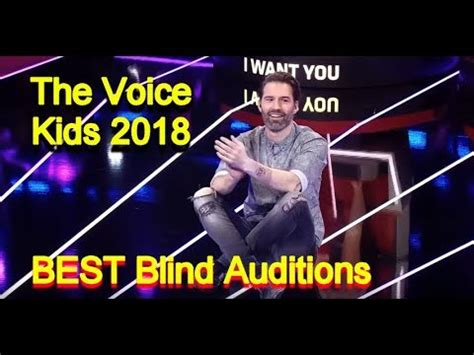 the voice kids 2018 best blind auditions of the voice