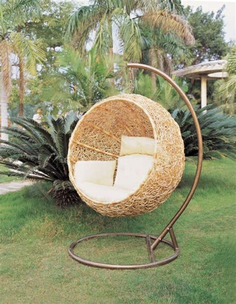 hängesessel rattan mit gestell 50 korbh 228 ngesessel coole wohnideen f 252 r h 228 ngesessel mit