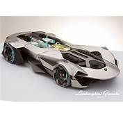 Lamborghini Quanta Is A Concept Car Study For The Year Of
