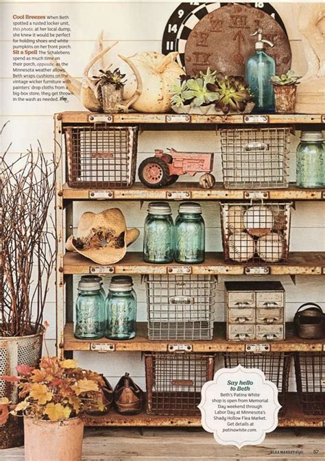 industrial vintage kitchen farmhouse rustic storage shelf