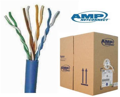 Kabel Kabel Cable Utp Cat6 Blue 1427071 6 cat6 utp network cable 305m 1bo end 4 25 2018 12 00 am