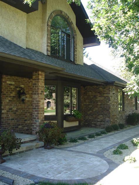 driveway entryway design minneapolis entryway