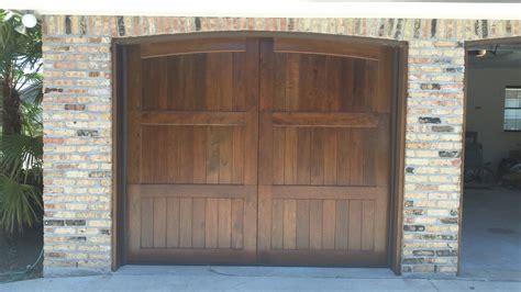 Wood And Wood Garage Doors Wood Garage Doors Acadiana Garage Doors Lafayette Louisiana