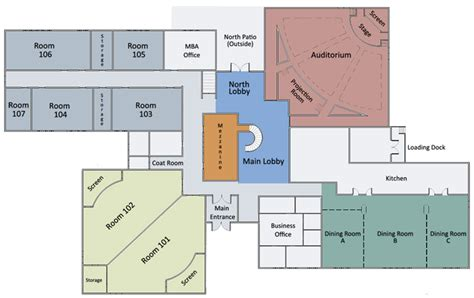 small school floor plans home management education center eli broad college of