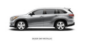 toyota highlander colors 2015 toyota highlander review price redesign changes