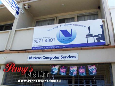 vinyl printing hobart product gallery penny s banners
