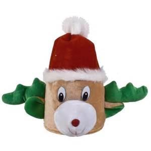 cute novelty stuffed christmas hat ideas