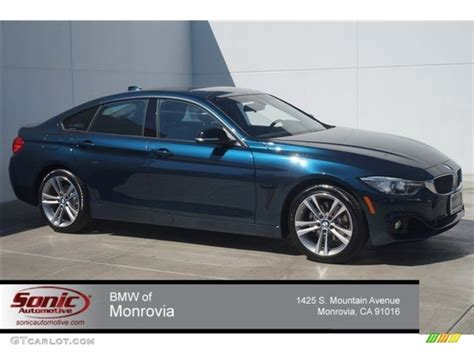 bmw blue colors 2015 estoril blue metallic bmw 4 series 428i gran coupe