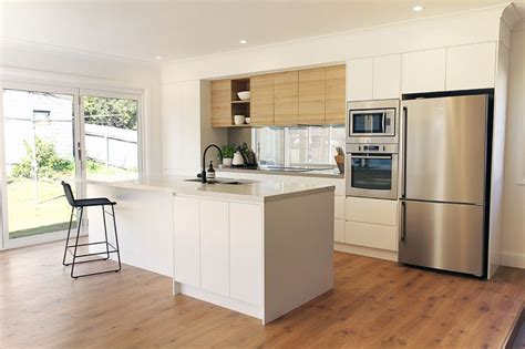 kitchen renovation brisbane with caesarstone benchtops and white macubus quarzite 1000 images about cuisines on pinterest cement tiles