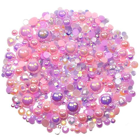 rose theme pack lilac rose theme rhinestone and pearl embellishment pack