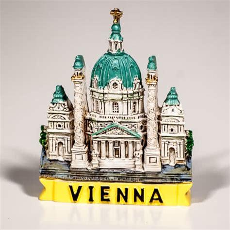 Magnet Jam Austria Souvenirs resin fridge magnet austria vienna karlskirche type 1