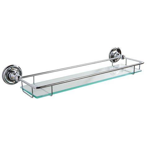 bathroom glass shelving glass shower shelves solid brass mounting brackets and