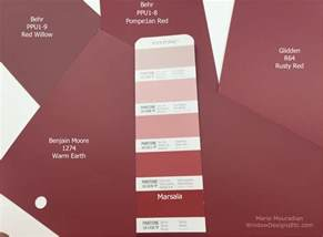 color marsala marsala pantone 2015 color of the year in interior design