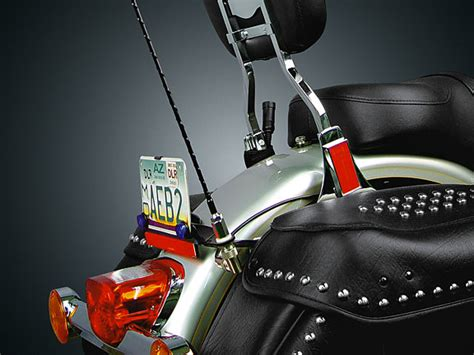 motorcycle license plate mount cb antenna kit