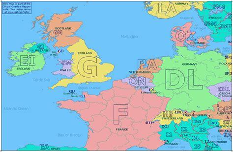 western map europe western map