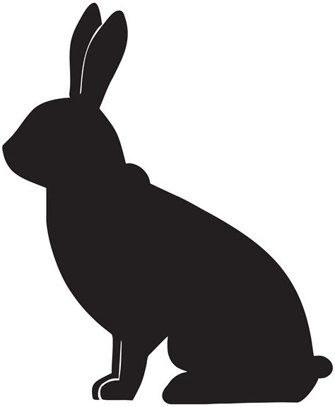 free clipart silhouette rabbit silhouette clipart best