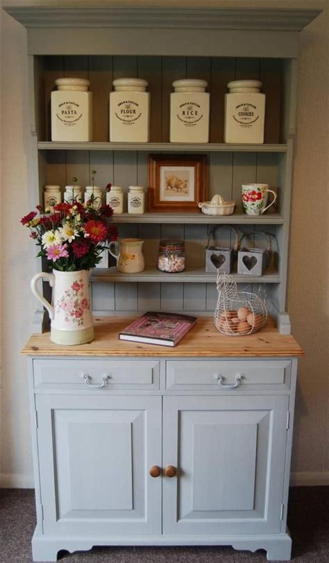 Shabby Chic Kitchen Dresser by Country Farmhouse Shabby Vintage Chic Pine Kitchen