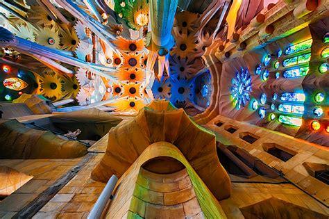 Inside Sagrada Familia, Barcelona   Julian Corlaci