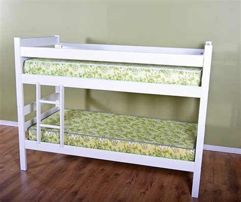 bunk bed white wood bunk loft bed desk with ladder
