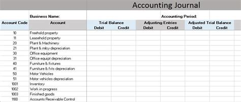 bookkeeping for small business template free accounting