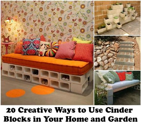 20 creative ways to decorate your home with unexpected 20 creative ways to use cinder blocks in your home and