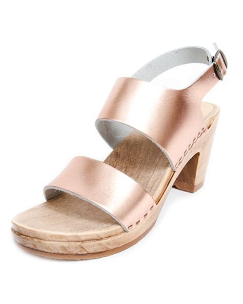 no 6 shoes no 6 high heel sandals in gold garmentory
