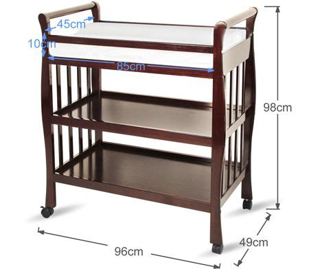 Changing Pad For Changing Table Walnut Changing Table W Changing Pad Shopping Shopping Square Au Bargain