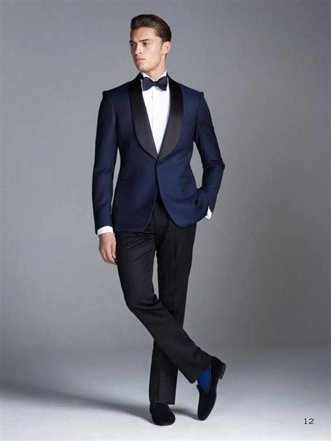 2015 Wedding Suits Navy Blue Groomsmen Best Mens Wedding
