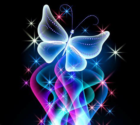 wallpaper design butterfly animal wallpapers neon butterfly desktop background