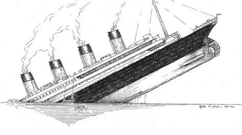 titanic boat sketch titanic sinking for kids titanic seite 3 sinking ship