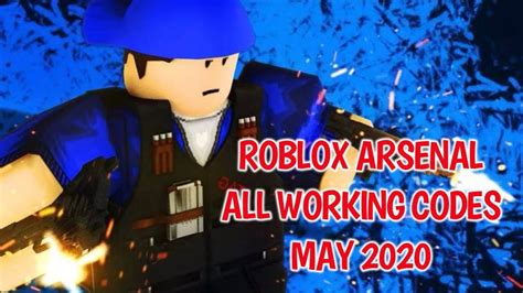 roblox arsenal  working codes july  youtube